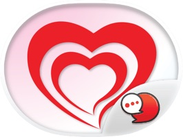 Red Heart Collection Stickers for iMessage