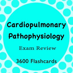 Cardiopulmonary Pathophysiology 3600 Flashcards