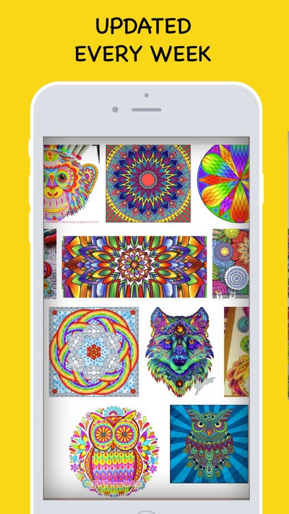 Coloring book for All (Adults & Kids) app image