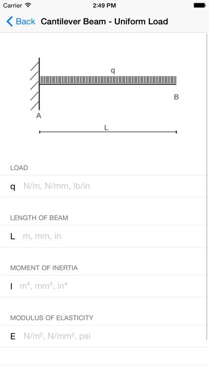 Mechanics Calculators - Mechanical Engineers screenshot-4