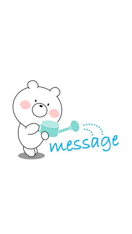 Bear message