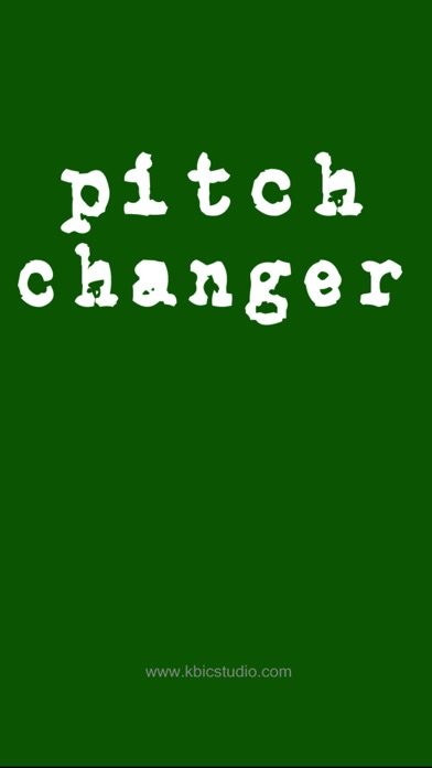 ピッチ変更 - Pitch Changer screenshot1