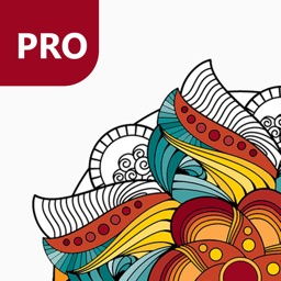 Magic Mandalas PRO - Coloring Book for Adults