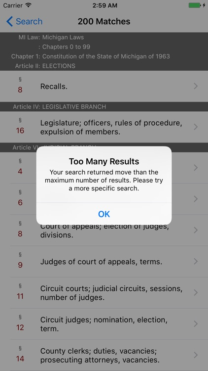 Michigan Law (2017 LawStack Series Statutes/Codes) screenshot-4