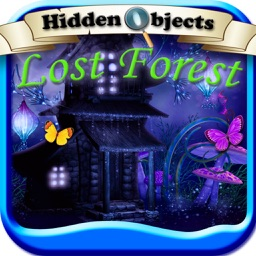 Hidden Objects: Lost Forest Puzzle Adventure