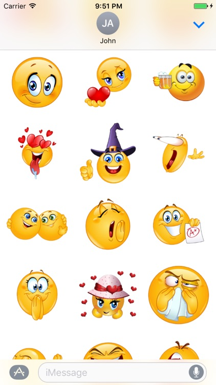 Big Emoji Stickers Box