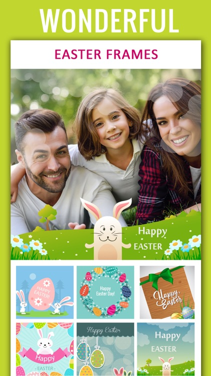 Happy Easter Photo Frames and photo collage app