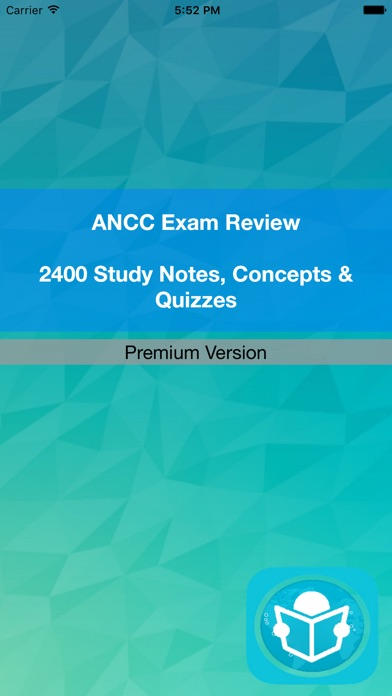 ANCC Exam Review & Study Guide 2017- Terms & Q&A Screenshot on iOS