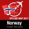 挪威 旅游指南+离线地图