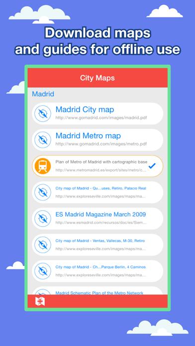 Madrid シティマップス - ニューヨークを MAD を MRT, Bus, Guidesのおすすめ画像1