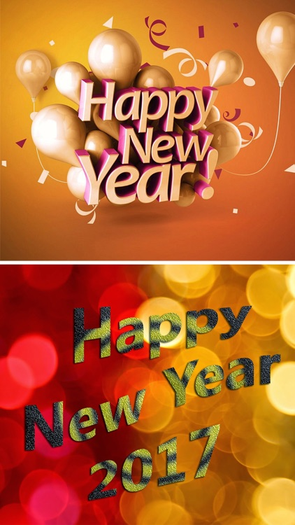 New Year Wallpapers- Greeting Cards & Photo Frames screenshot-4