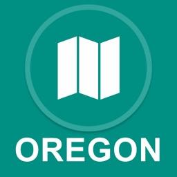 Oregon, USA : Offline GPS Navigation