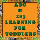ABC und 123 Lernen Spaß für Kleinkinder . icon