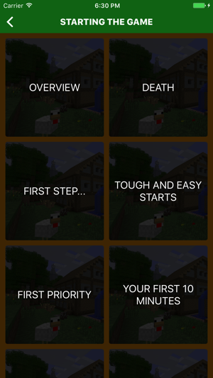 ultimate beginners guide for minecraft on the app store rh itunes apple com Minecraft Tips for Beginners Minecraft Beginner Handbook Pages's