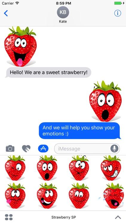 Strawberry SP emoji screenshot-3