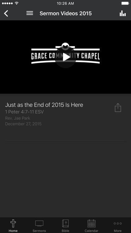Grace Community Chapel
