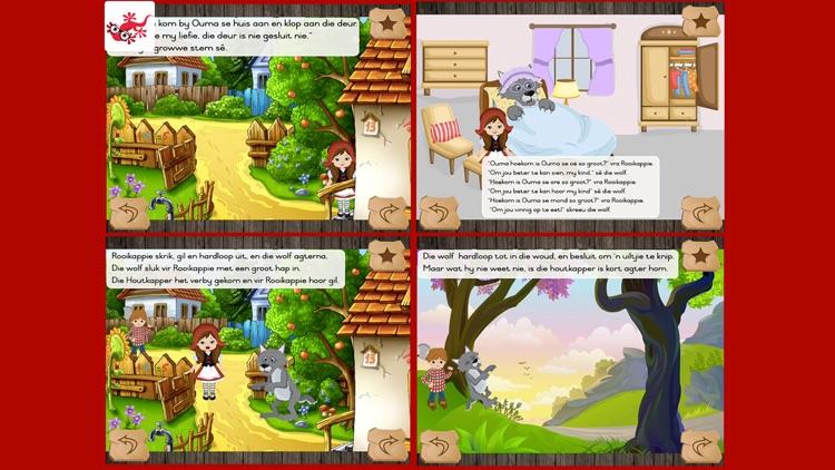 Rooikappie kinderstorie in afrikaans screenshot-3