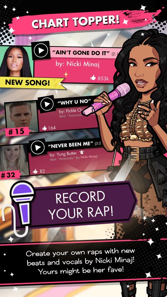 Nicki Minaj: The Empire Screenshot