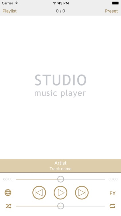 Studio Music Player Pro | 48 band eq + lyrics screenshot-2