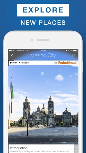 Mexico City Travel Guide Offline Map on the App Store