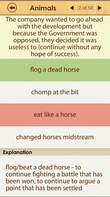 Idioms Lite screenshot-3