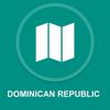 Dominikanische Republik : Offline-GPS-Navigation