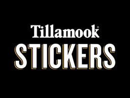 Tillamook Cheese Sticker pack for those moments when you can't decide what to have for dinner and need to send some inspiration