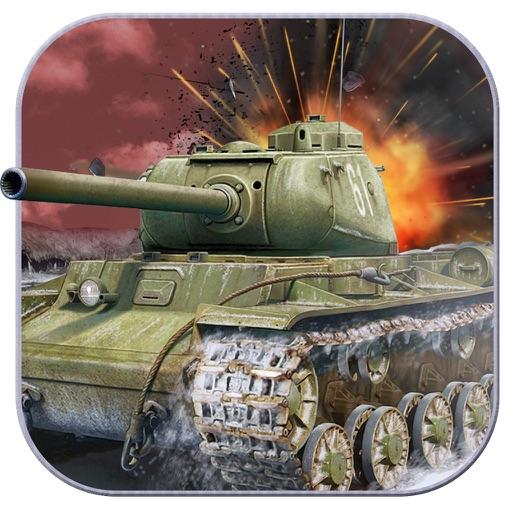 Crash of Tanks - World at Snow Mountains Warfare