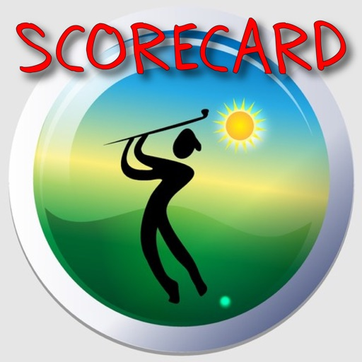 Lazy Guy's Golf Scorecard