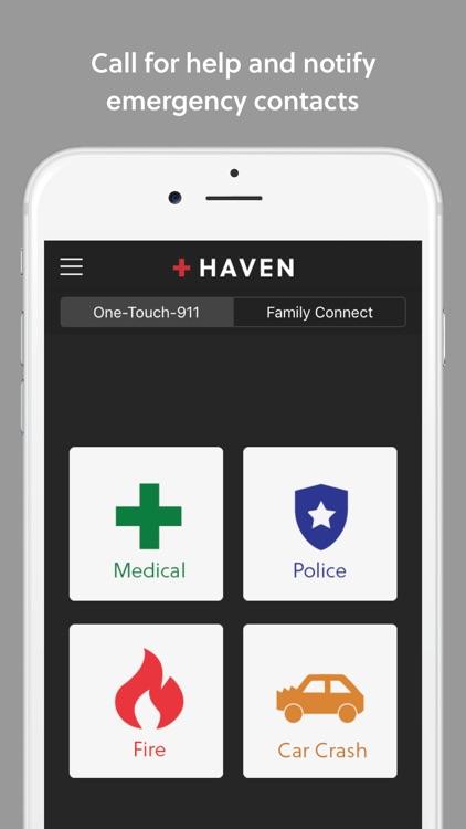 RapidSOS Haven - Emergency App screenshot-0