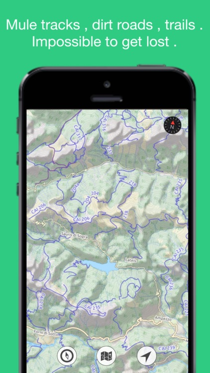 OpenMaps PRO - digital topographic maps