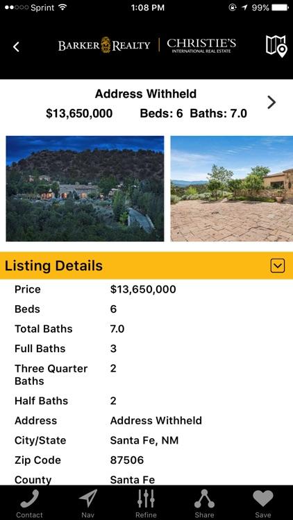 Santa Fe Real Estate Mobile screenshot-3