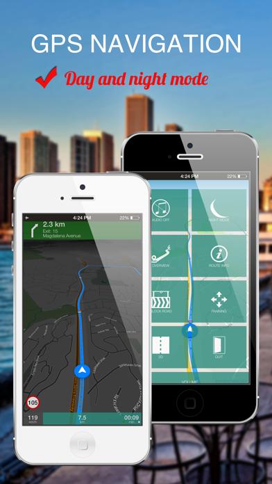 Dehli, India : Offline GPS Navigation screenshot two