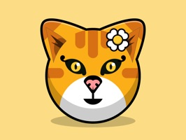 Kitty Cat Stickers - Feline Emoji Meme