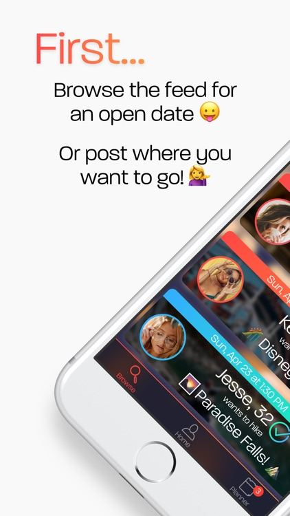 First - The First Real Dating App