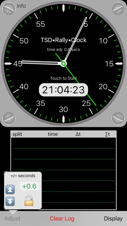 TSD Rally Clock screenshot-0