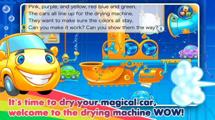 Rainbow Cars - Learn Colors screenshot-3