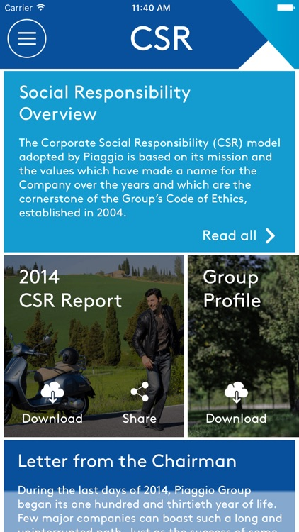 Piaggio Group Corporate App screenshot-2