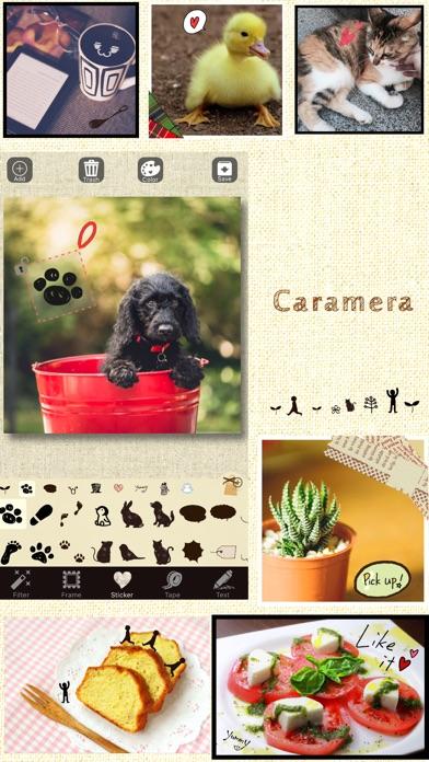 Caramera -雑貨系写真加工アプリ- 無料紹介画像1
