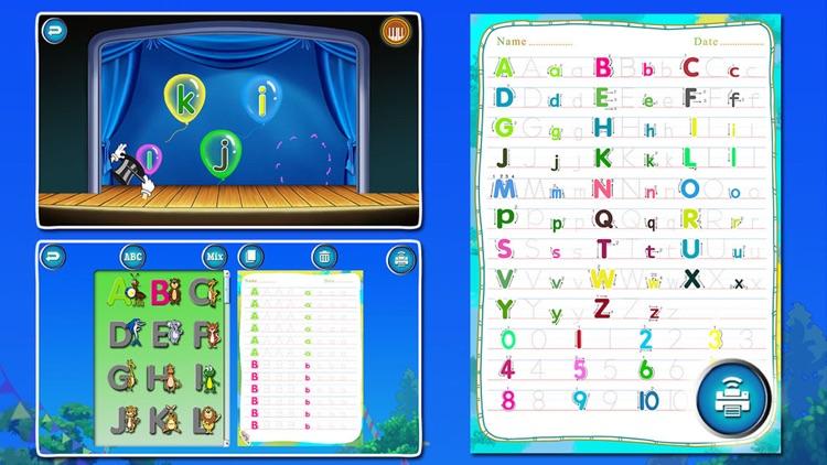 ABC Circus-Alphabet & Number Games for kids screenshot-4