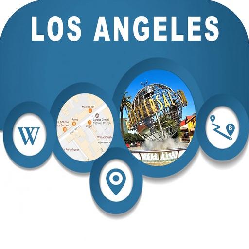 Los Angles CA USA Offline City Maps Navigation
