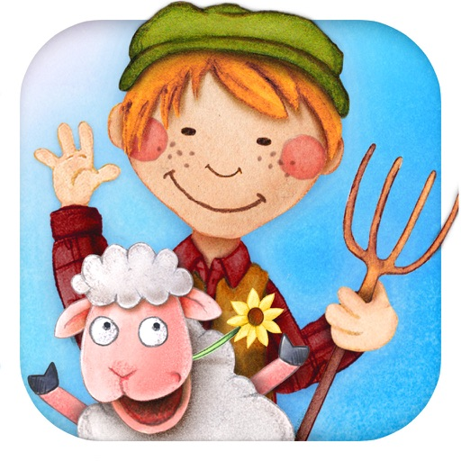 Tiny Farm: Animals & Tractor Game for Toddler Kids