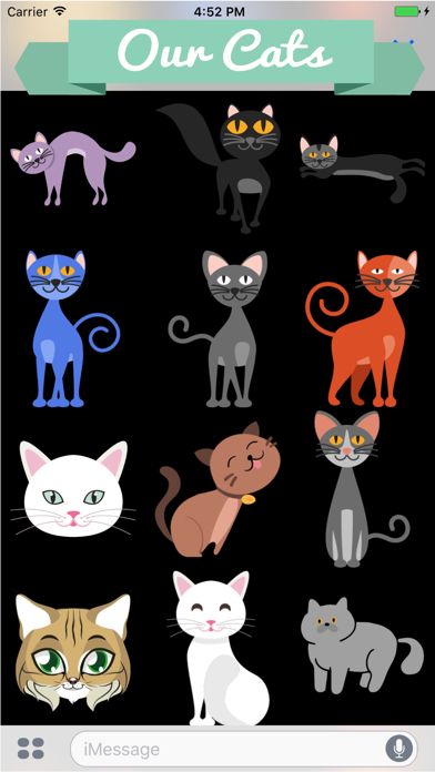 Huge Cat Sticker Pack screenshot two