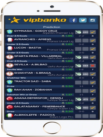VIPBANKO - Daily Betting Tips Screenshots