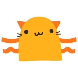 Fun Cat Animated Emoji Stickers