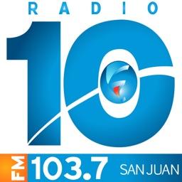 Radio 10 FM 103.7 Mhz - San Juan