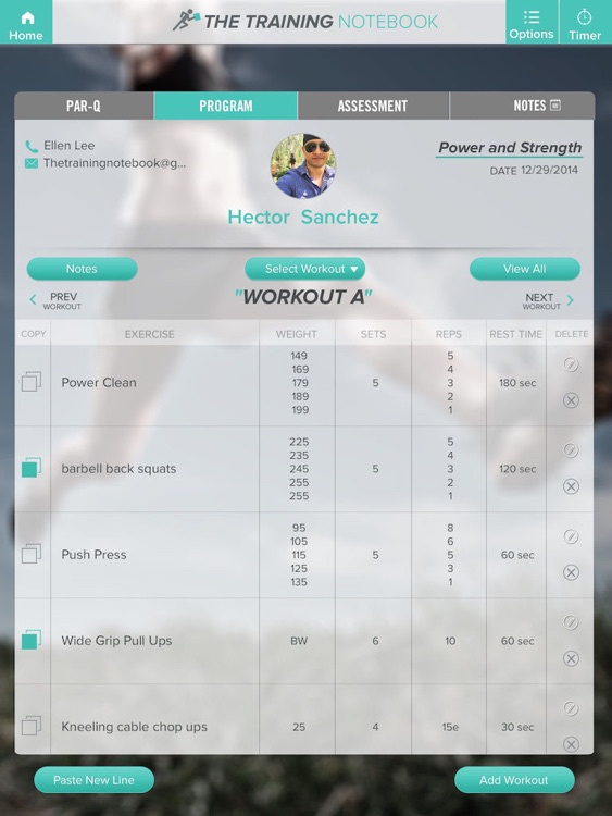 The Training Notebook Lite