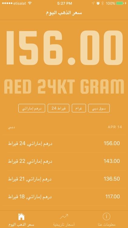 Gold Price in UAE سعر الذهب في الإمارات