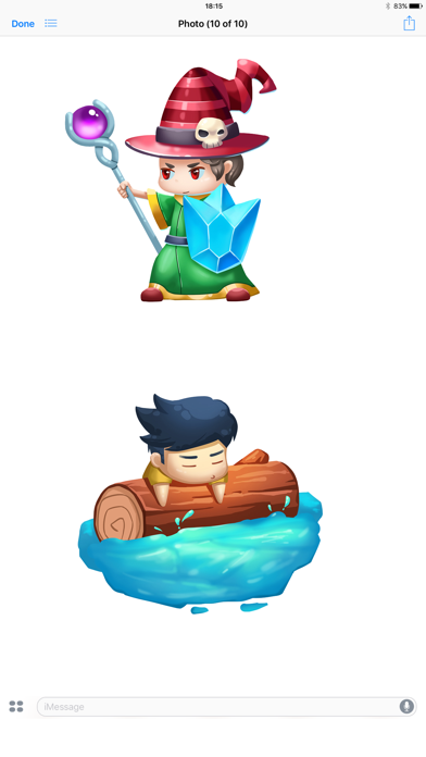Video Game Story Stickers