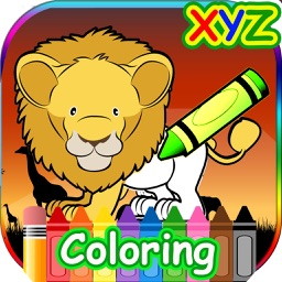 XYZ Animal Coloring Game